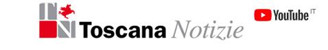 Logo Toscana notizie e logo youtube